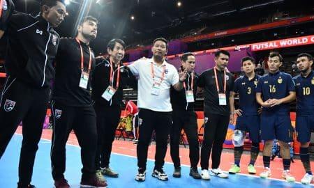 โค้ชหมี ขอโทษชาวไทย หลังช้างศึกโต๊ะเล็ก ร่วง 16 ทีมสุดท้ายฟุตซอลโลก